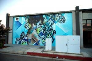 AmandaLynn mural Lancaster CA 2016 Pow Wow Antelope Valley